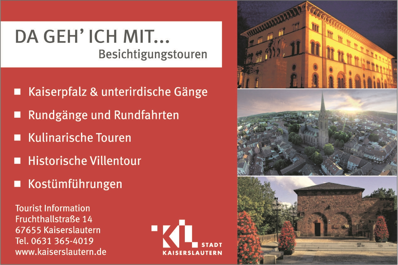 Tourist Information Kaiserslautern