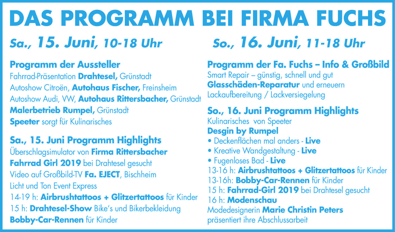 Programm Fuchs