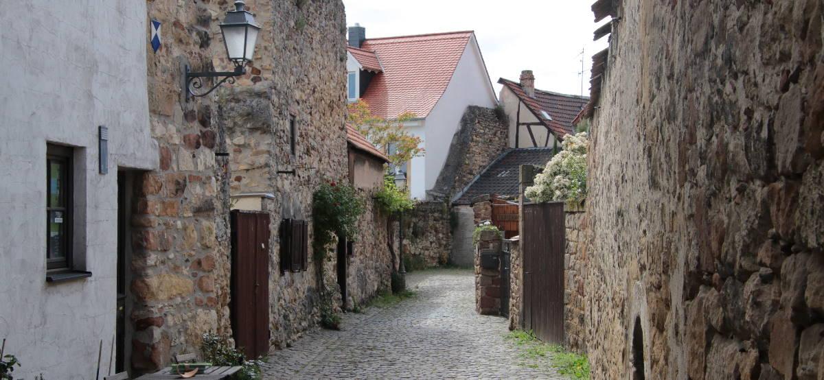 Historische Stadtmauer in Freinsheim
