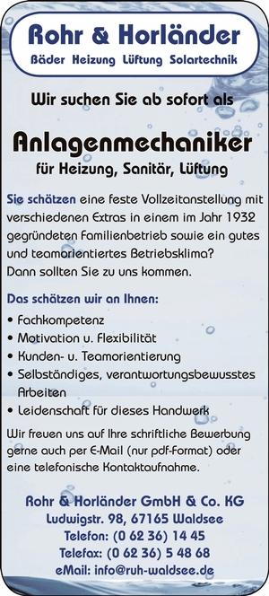 Rohr & Hörländer