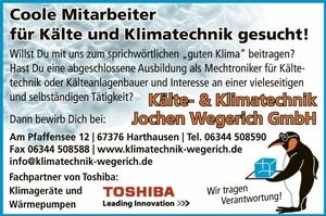 Kälte- und Kältetechnik Jochen Wegerich GmbH