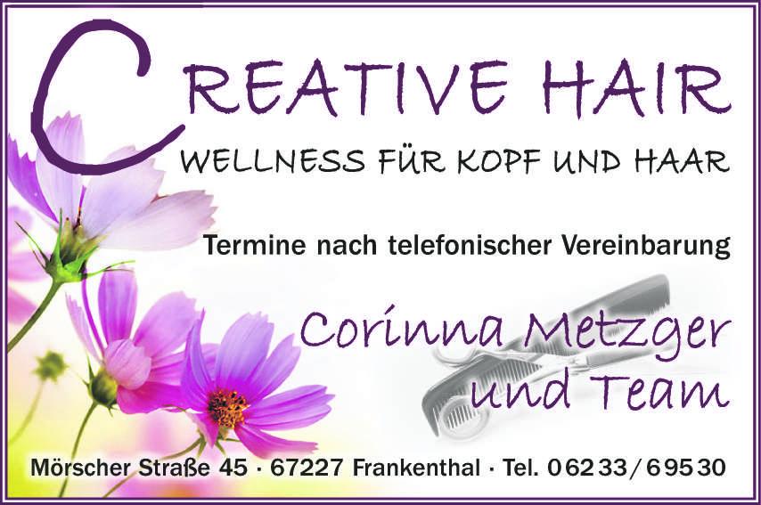 Creative Hair, Corinna Metzger