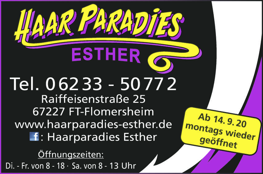 Haar Paradies Esther