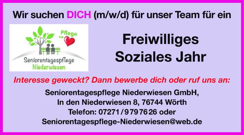 Seniorentagespflege Niederwiesen GmbH