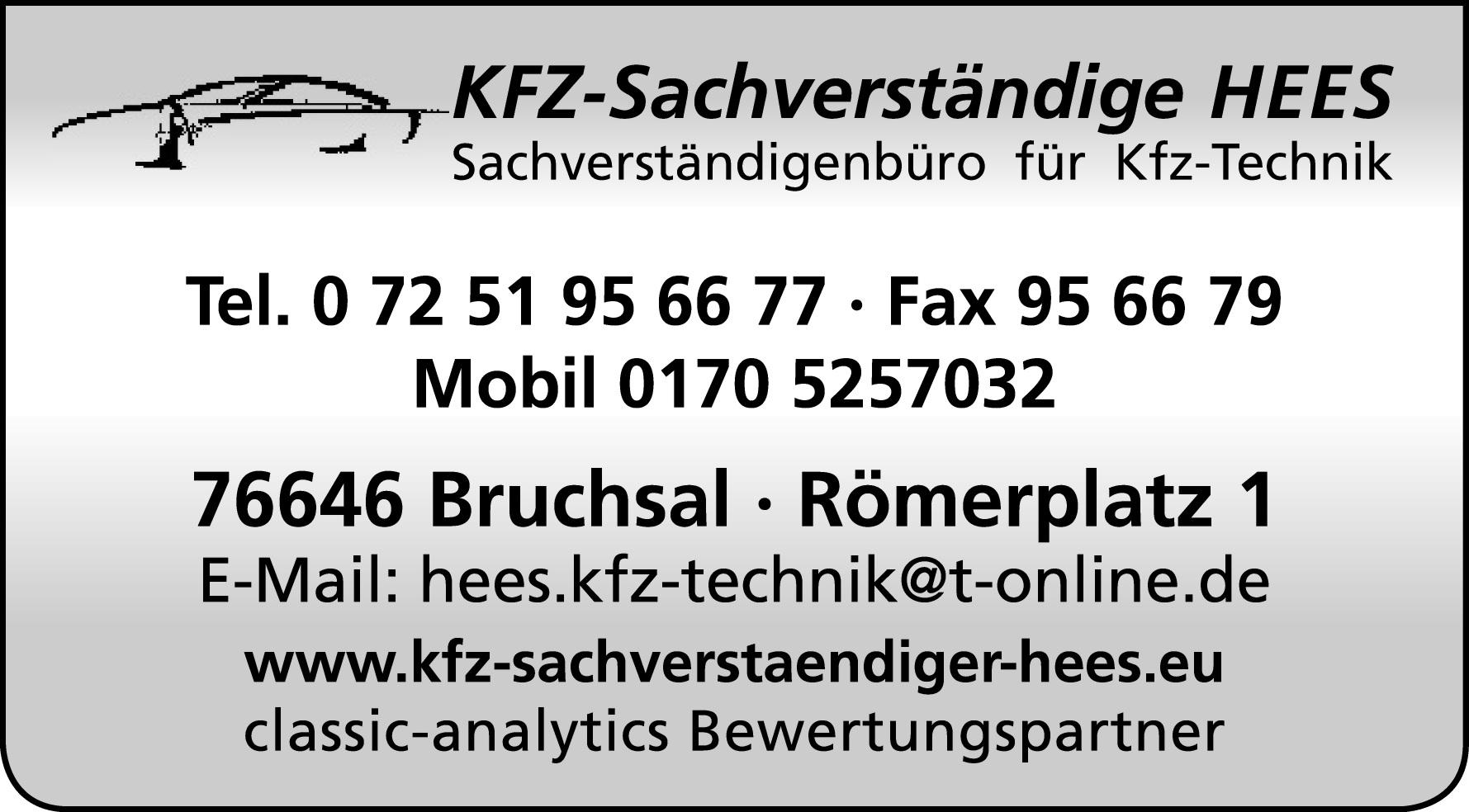 KFZ-Sachverständige HEES