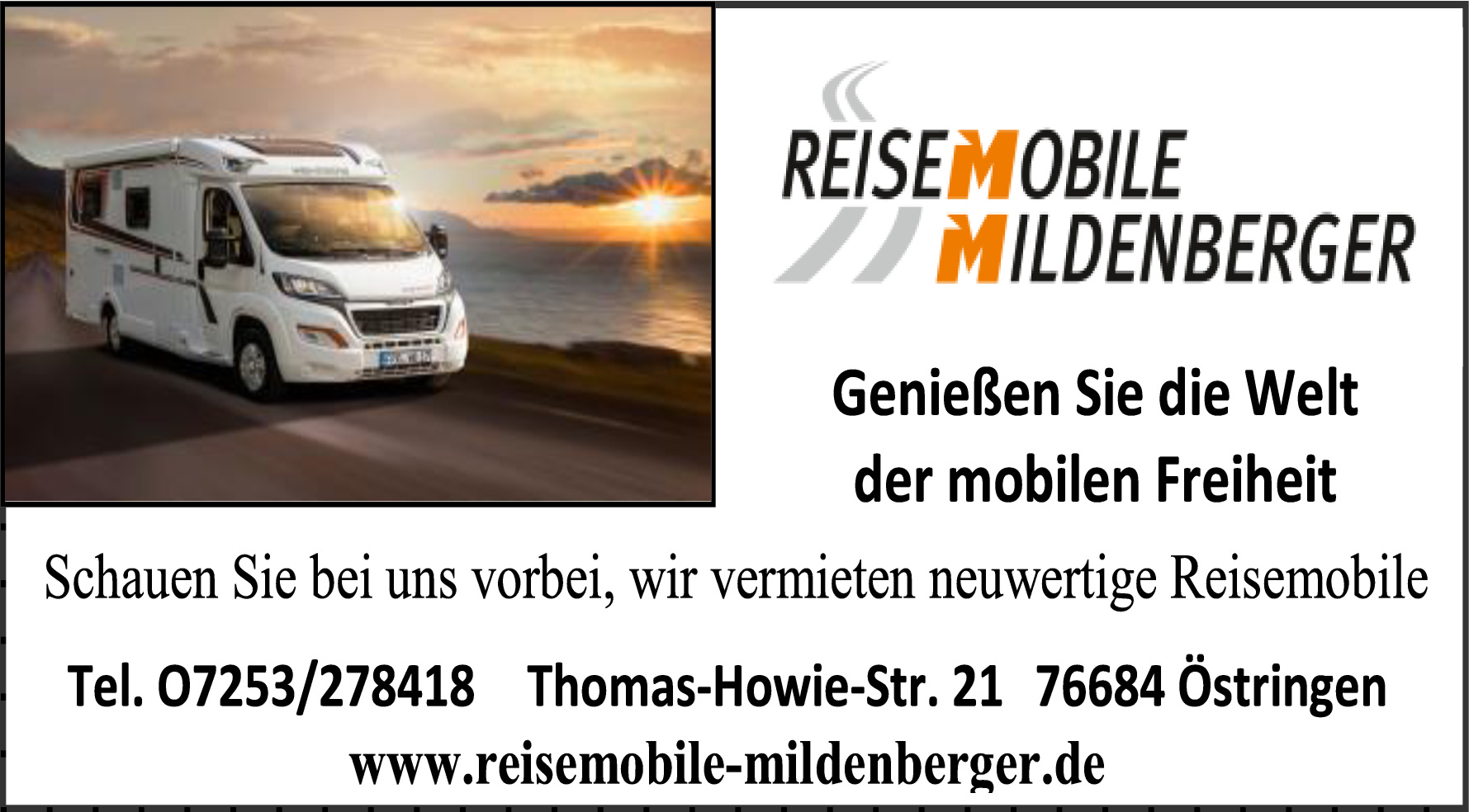 Reisemobile Mildenberger