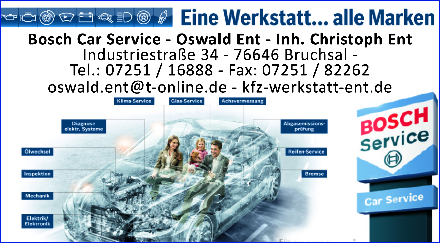 Bosch Car Service – Oswald Ent