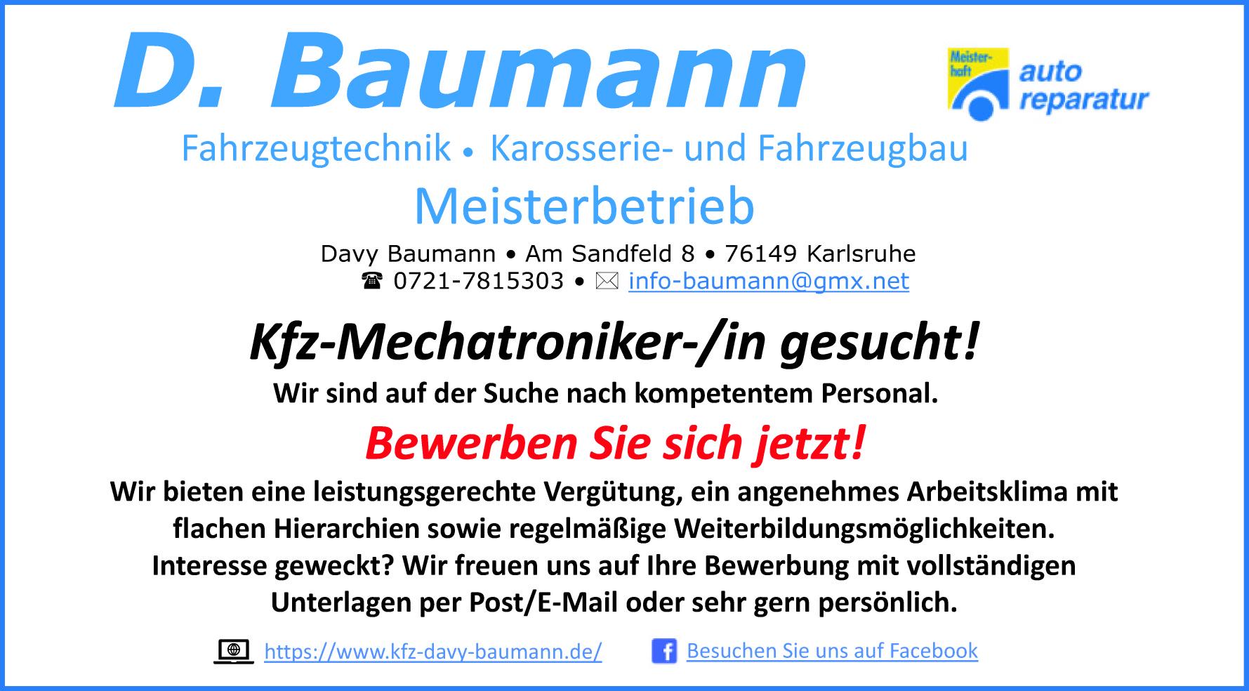 D. Baumann