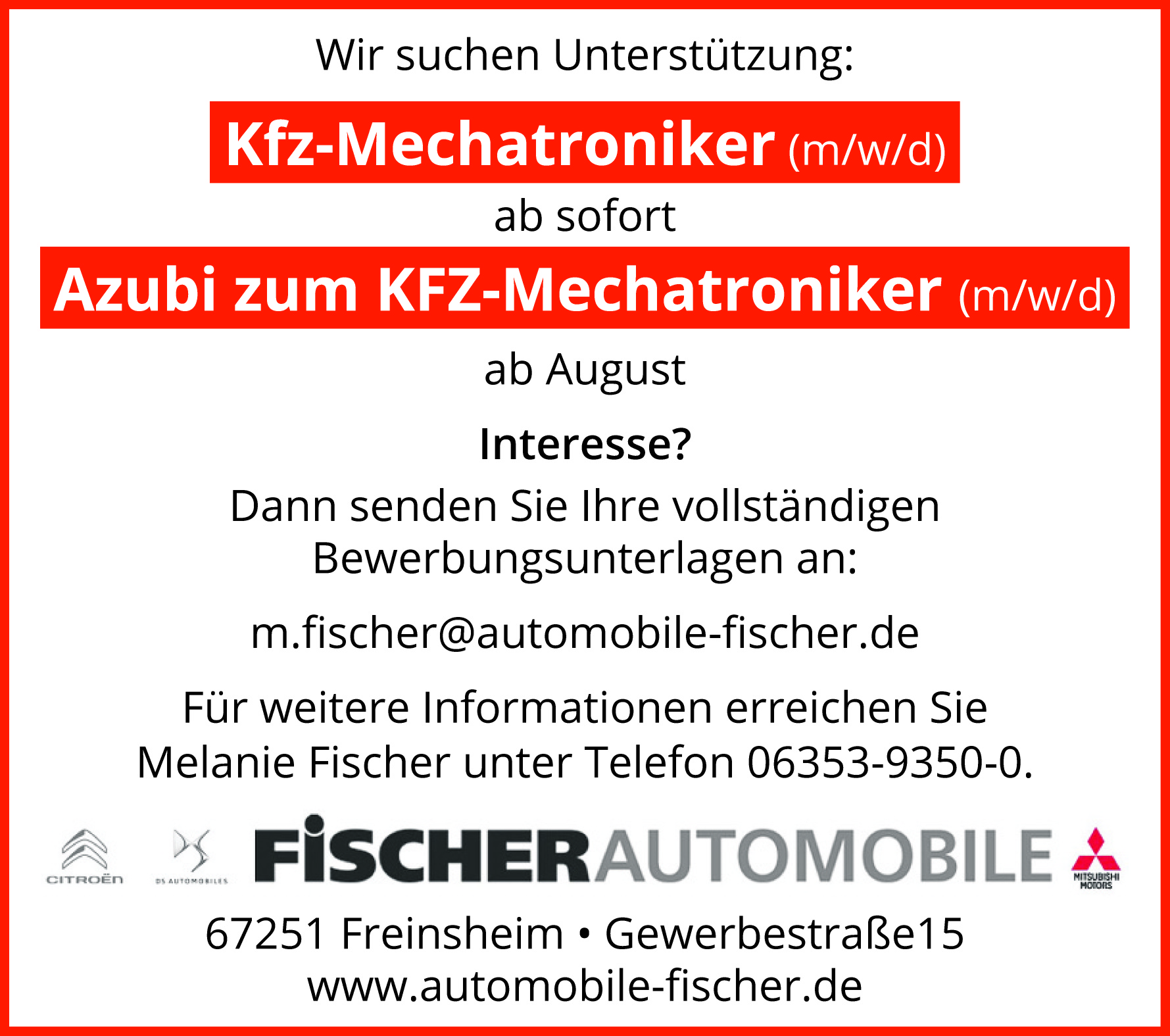 Fischer Automobile