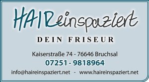 HAIReinspaziert