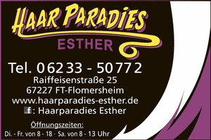Haar Paradies Esther