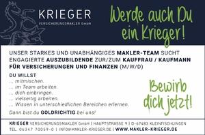 Krieger Versicherungsmakler GmbH - Azubi