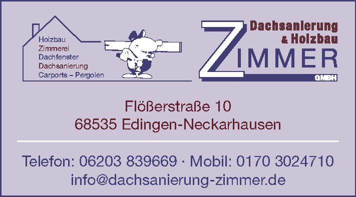 Dachsanierung & Holzbau Zimmer GmbH