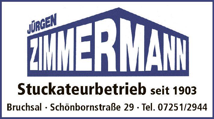 Jürgen Zimmermann