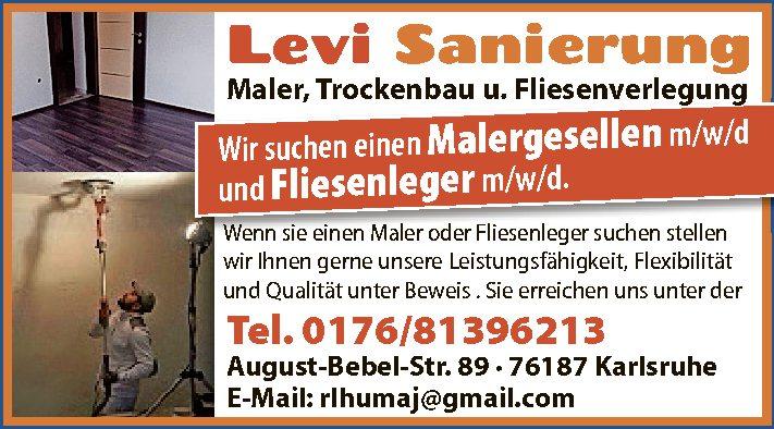 Levi Sanierung