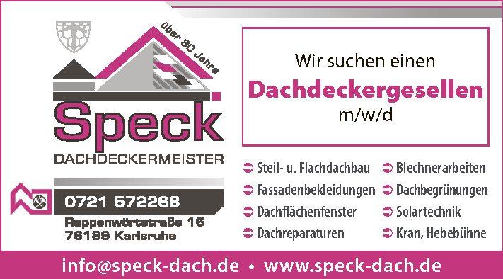 Speck Dachdeckermeister