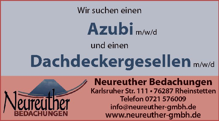 Neureuther Bedachungen