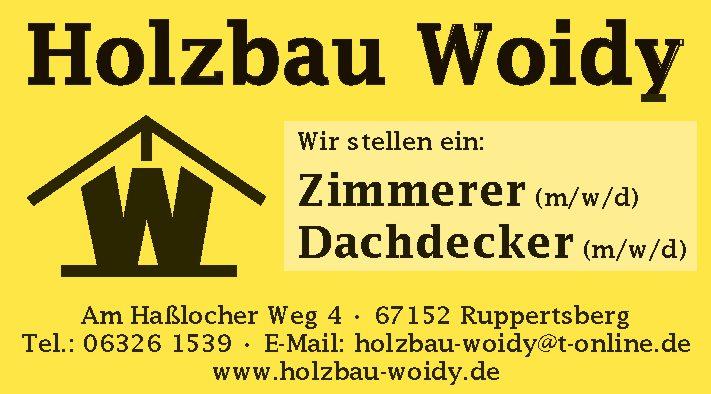 Holzbau Woidy