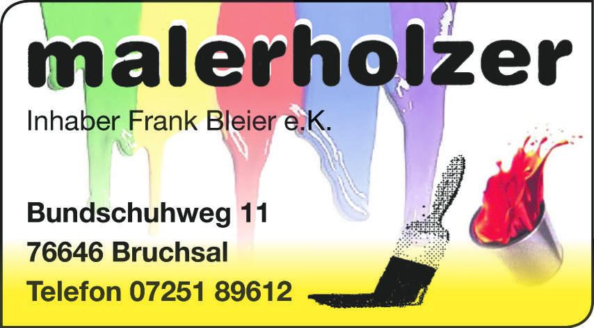 Maler Holzer