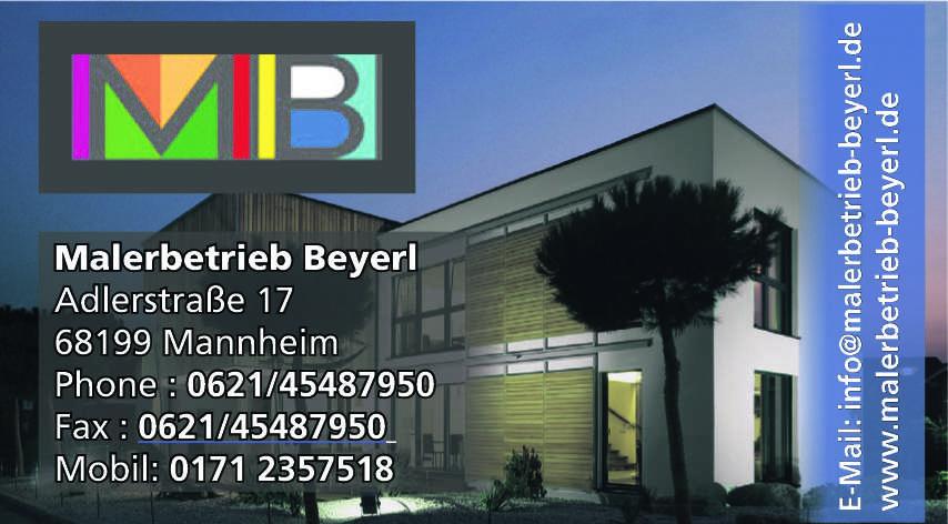 Malerbetrieb Beyerl
