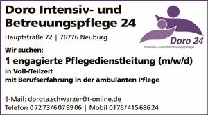 Doro Intensiv- und Betreuungspflege 24