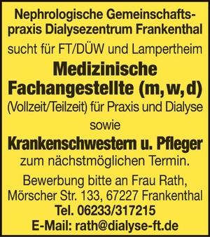 Nephrologische Gemeinschaftspraxis Dialysezentrum Frankenthal