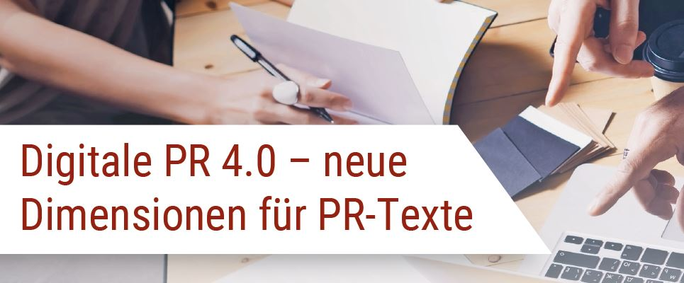 Digitale PR Produktübersicht