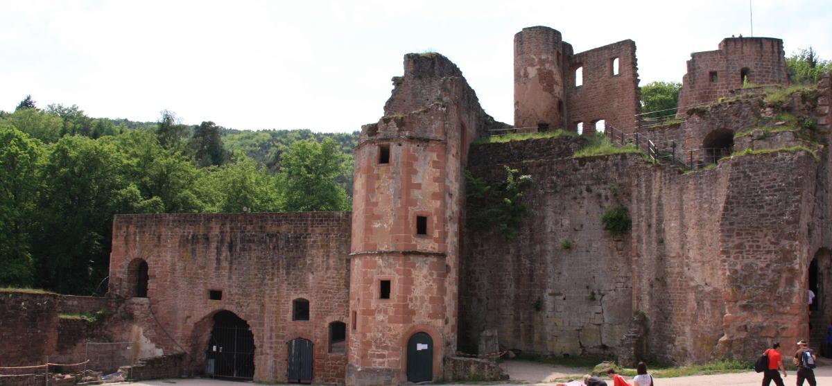 Schloss- und Festungsruine Hardenburg bei Bad Dürkheim