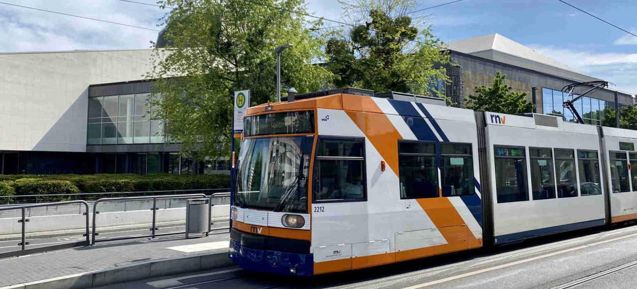 Rhein-Neckar-Verkehr in Ludwigshafen